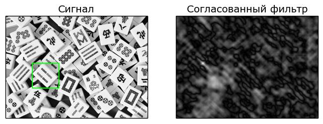 Согласованный фильтр 2D, 2D Matched Filter