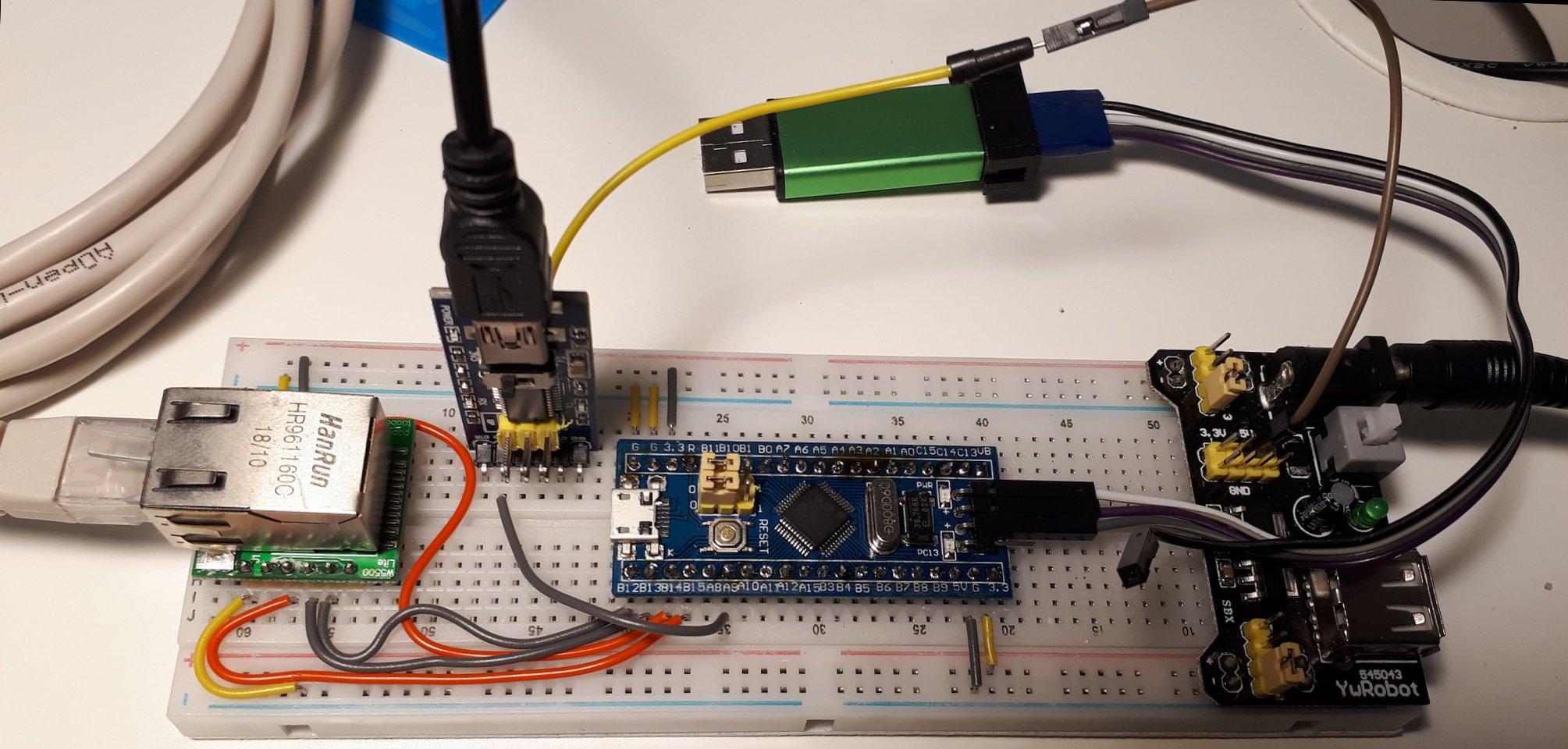 stm32, stm32f103, Ethernet, W5500